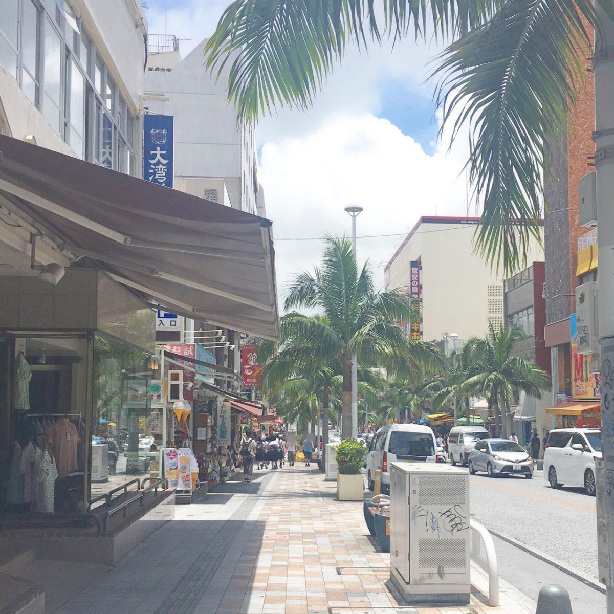 国際通りにあるおいしい沖縄そば『むつみ橋 かどや』