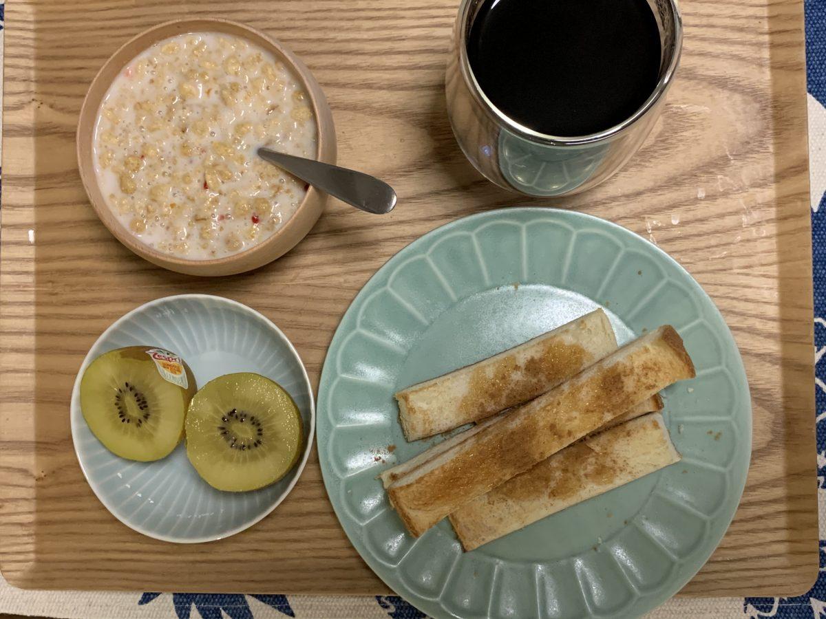 フルグラ朝食