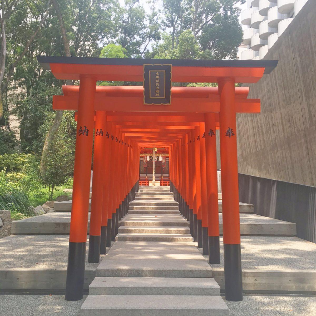 ハートの絵馬&縁結び水みくじがある神戸の生田神社