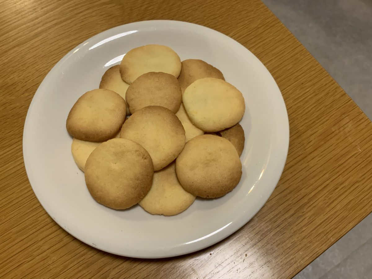 手作り米粉クッキー