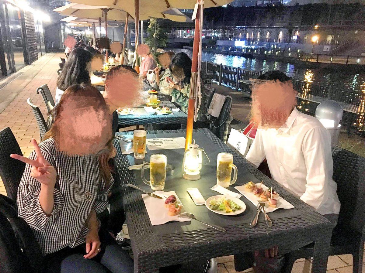 大阪で人気のビアガーデン『8G Horie River Terrace』【閉店】