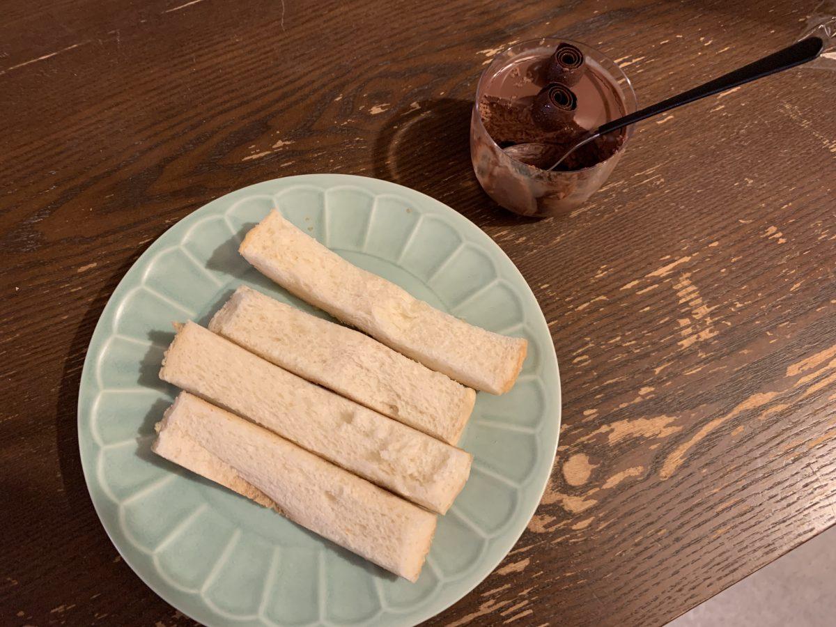 メゾンドュショコラのチョコムース