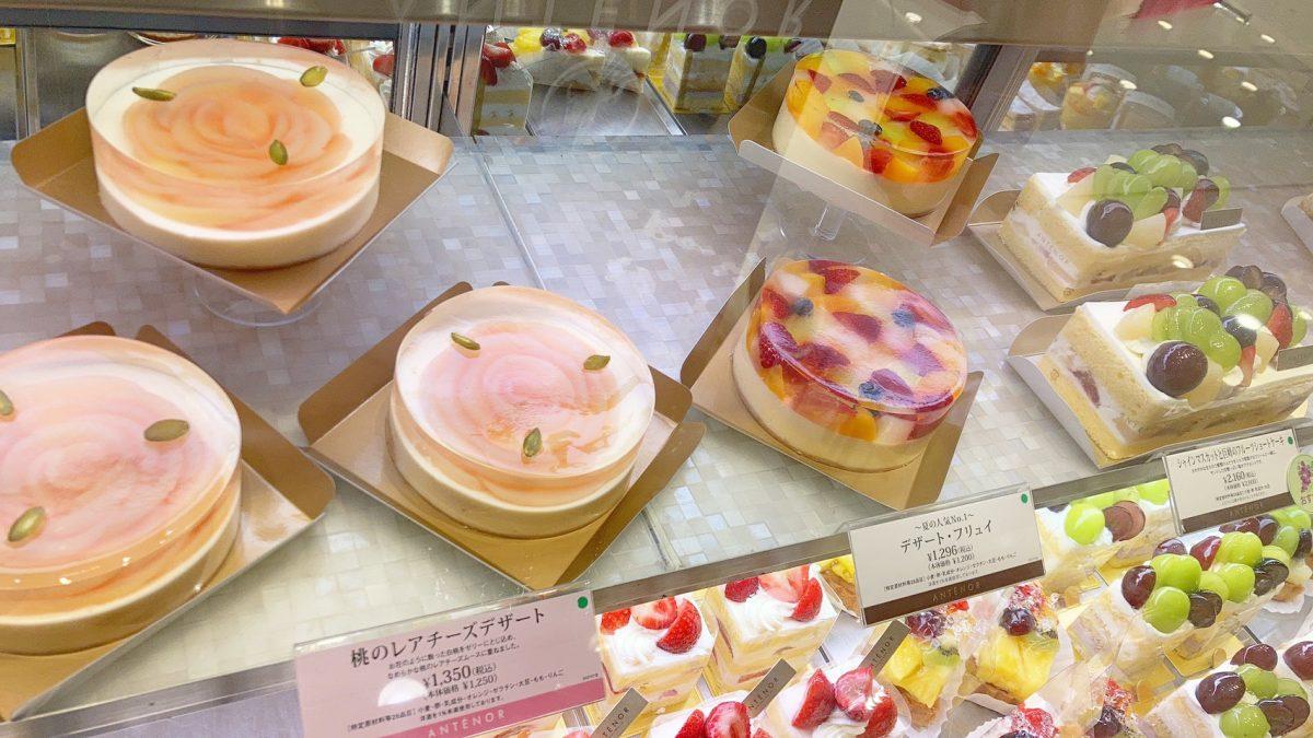 レモンタルトがおいしい♡神戸発のケーキ屋『アンテノール』