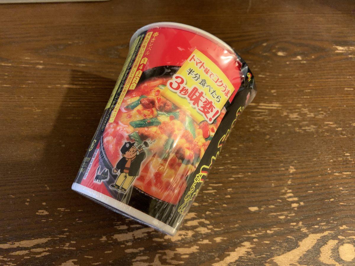 宮崎辛麺のカップラーメン