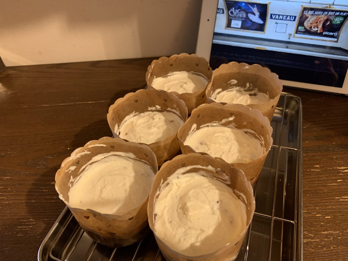キャロットケーキ作り