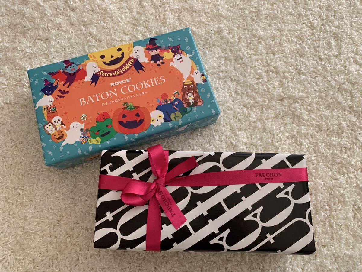 ハロウィン仕様のお菓子とお手紙